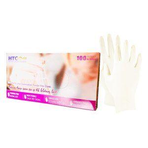 Latex Free, Powder Free Rubber Gloves (L) (100 cou